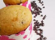 Muffin farina farro gocce cioccolato