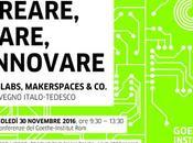 AGENDA: Creare, fare, innovare… (Roma 30.11.2016)