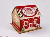Casa zenzero porta Post-it Gingerbread House holder