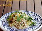 #VEGGYME Quinoa fagioli soia, arancia rucola
