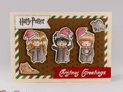Biglietto d'auguri natalizio Harry Potter greetings card