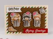 Biglietto d'auguri natalizio Harry Potter greetings card