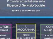 Conferenza Italiana sulla RICERCA SERVIZIO SOCIALE, Torino 25/26 maggio 2017. sito http://www.cirss2017.org/