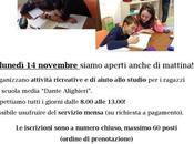 Servizio studio insieme alla mattina Dante Alighieri Macerata