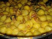 Gnocchi patate salsa cremosa allo zafferano
