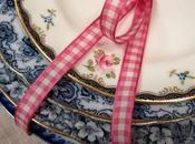 Porcellane inglesi rose, antiche vintage, sbocciato nostro giardino d'estate!