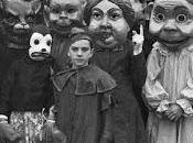 Halloween: creepy vintage photo book
