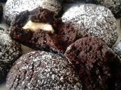 [Food] Cookies cioccolato fondente cuore bianco un'esplosione sapore