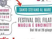 Giugno parte YARN FESTIVAL Santo Stefano Mare... Ligura veste filo