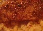 Filetti pesce spada croccanti semi sesamo