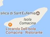 Alla locanda sull'isola Comacina mangia cibo 1947