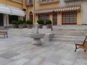 Panchine fontana lungo corso Umberto Varallo
