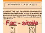 alla Riforma Costituzionale.