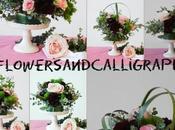 Flowers Calligraphy: Rosa marsala