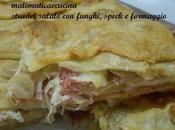 Strudel Salato Funghi, Speck Formaggio