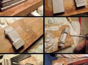 Domus photoset: Miniature marble fireplace