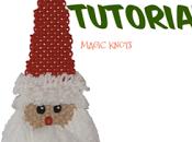 Babbo Natale realizzata tecnica Macramè