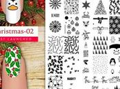UberChic Beauty Christmas-02 Nail Stamping Plate Review