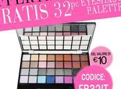 GRATIS 32pc Eyeshadow Palette valore Euro