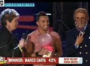 """Marco Carta vince Awards 2011 nella categoria """"Best Talent Show Artist"""" voti. Ecco tutti vincitori della serata"""