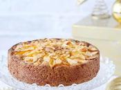 Torta Frangipane, senza glutine, pesche amaretti