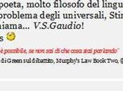 poeta problema degli Universali chiama V.S.Gaudio!...▐ Spinoza.Chiacchiere