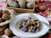 Gnocchi Patate Viola Gorgonzola Noci