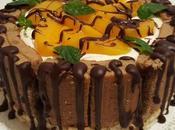Torta Cheesecake Dolcetto Cacao Cream Lactose Freddi pesche cioccolato