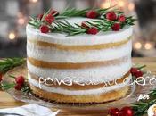 Tutorial Naked cake Natale ghirlanda natalizia dolcidee.it