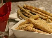 Biscotti salati parmigiano sesamo