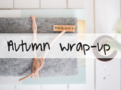 Autumn wrap-up