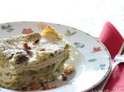 Lasagna home made cukò_ broccoletto verde,ricotta granella noci