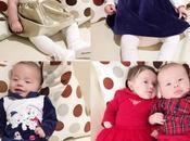 Abbigliamento bambini look feste blu, rosso