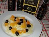 Insalata finocchi arance olive