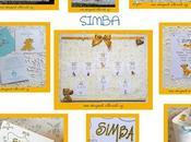 "Coordinato battesimo bimbo leone simba"""