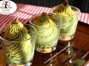Crema pistacchio, dessert cucchiaio