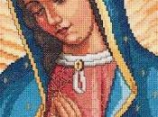Immagini sacre punto croce Madonna Guadalupe