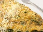 Omlette spinaci mozzarella