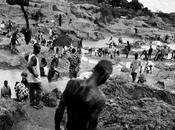 minatori-artigiani diamanti della Sierra Leone