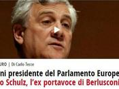 Terremoti, imbarazzi epifanie nuovo sciame sismico all'elezione Tajani presidente Parlamento Europeo.