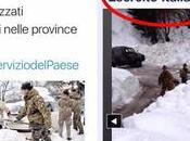 Italia appello emergenza neve: tempo neve ignavia governativa