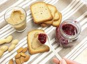 Burro Arachidi, Mandorle Semi girasole Confettura velocissima Lamponi! (colazione proteine vegetali)