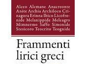 Frammenti lirici greci cura Emiliano Randazzo