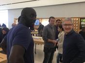 Cook fatto visita all'Apple Store Marsiglia