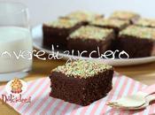 Tutorial ricetta: bocconi torta, Sponge cake cream cheese cioccolato decorati sesamo momperiglia dolcidee.it