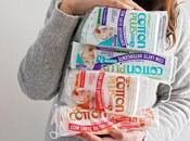 Cotton Plus Solution salviette struccanti asciutte cuore latte detergente