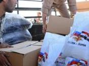 Siria. Russia invia tonnellate aiuti umanitari Talkalakh