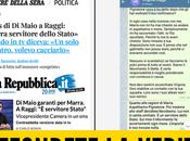 """Repubblica, Corriere Messaggero pubblicano: Maio difese Marra"""". Fake News"""