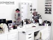 postazione trucco beauty blogger makeup artists