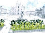 Perché piacciono palme Piazza Duomo Milano